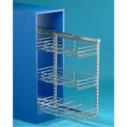 Side Mounted Pull-out Basket-240mm x 470mm x 590mm