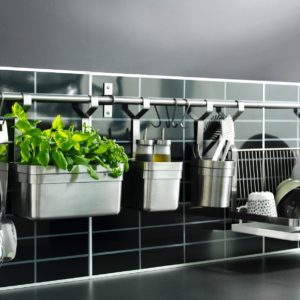 'Kitchen Organisers' from the web at 'http://www.universalunion.com.sg/wp-content/uploads/2016/10/fasbo-ikea-wall-panel1-300x300.jpg'